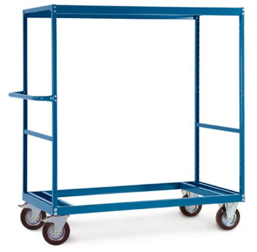 Regalwagen Stahl pulverbeschichtet Traglast (max.): 500 kg Resedagrün Manuflex TV3453.6011
