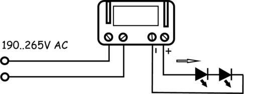 LED-Konverter 350 mA 6 V/DC Barthelme Betriebsspannung max.: 265 V/AC