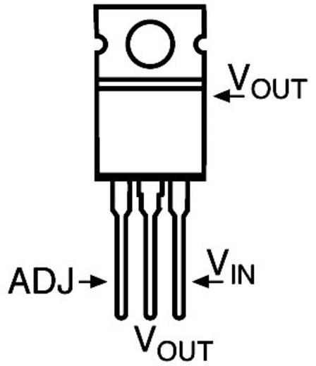 Spannungsregler - Linear STMicroelectronics LM317T Positiv Einstellbar 1.2 V 1.5 A TO-220-3