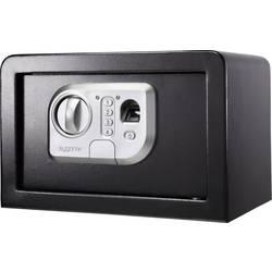 Bezpečnostná skriňa Sygonix SY-3521254, SY-31BS, zámok s odtlačkom prsta, na heslo, (š x v x h) 310 x 200 x 200 mm, čierna