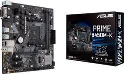 Základní deska Asus Prime B450M-K Socket AMD AM4 Tvarový faktor Micro-ATX Čipová sada základní desky AMD® B450