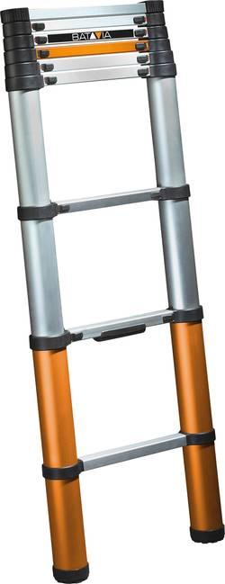 Image of Batavia Giraffe Air 2.62 7062763 Aluminium, Kunststoff Teleskopleiter Arbeitshöhe (max.): 3.4 m Silber 8.5 kg