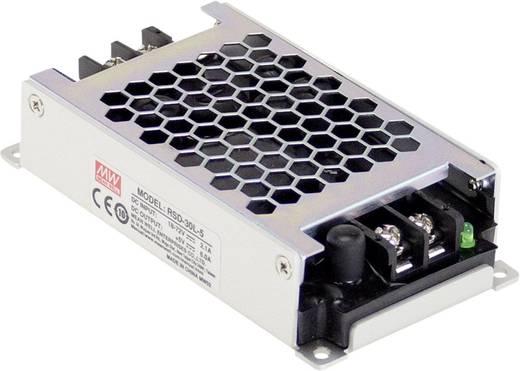 Mean Well RSD-30L-5 DC/DC-Wandler 24 V/DC, 36 V/DC, 48 V/DC, 72 V/DC - 5 V/DC/6 A 30 W
