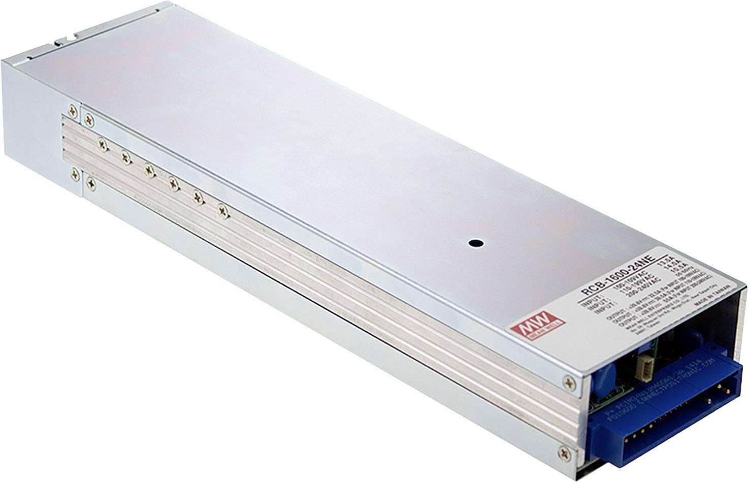 Mean Well Bleiakku Ladegerät RCB 1600 24 24 V Ladestrom (max.) 55 A
