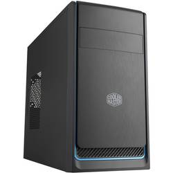 PC skrinka midi tower Cooler Master MasterBox E300L, čierna, strieborná