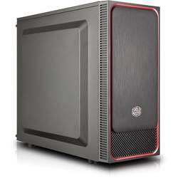 PC skrinka midi tower Cooler Master MasterBox E500L, čierna, červená