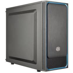 PC skrinka midi tower Cooler Master MasterBox E500L, čierna, modrá