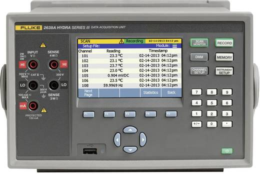 Fluke Calibration 2638A/60 240 Multi-Datenlogger Messgröße Spannung ...