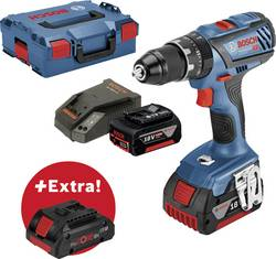 Aku příklepová vrtačka Bosch Professional PS GSB 18V-28 + ProCORE18V 4 Ah 0615990K7J, 18 V, 5 Ah, Li-Ion akumulátor