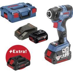 Aku rázový skrutkovač a uťahovák Bosch Professional GDR 18V-200 C + ProCORE18V 4 Ah 0615990K7F, 18 V, 5 Ah, Li-Ion akumulátor