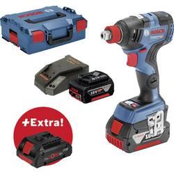 Aku rázový skrutkovač a uťahovák Bosch Professional GDX 18V-200 C + ProCORE18V 4 Ah 0615990K7G, 18 V, 5 Ah, Li-Ion akumulátor