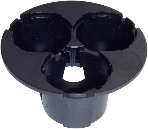 Optikhalterung Schwarz Anzahl LEDs (max.): 3 Für LED: Luxeon® Star Hexagon Barthelme 63100410