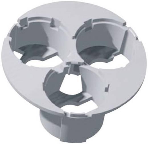 Optikhalterung Weiß Anzahl LEDs (max.): 3 Für LED: Luxeon® Star Hexagon Barthelme 63100420