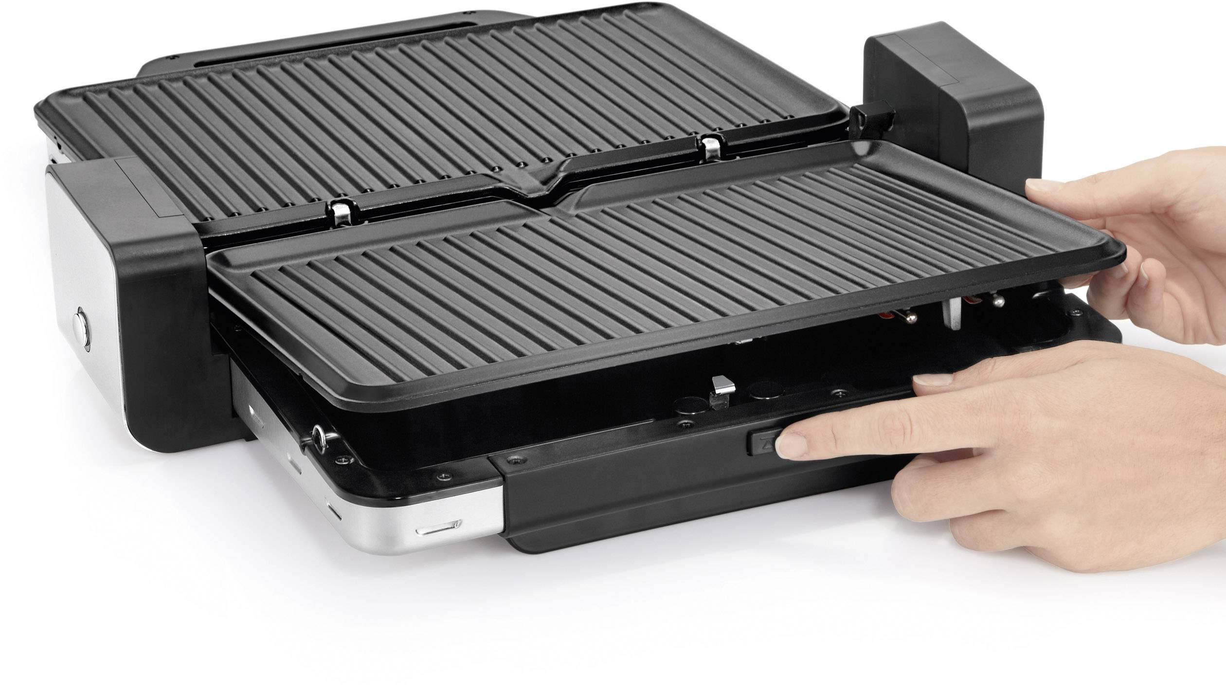 Wmf Elektrogrill Anleitung : Wmf elektro kontakt grill silber schwarz