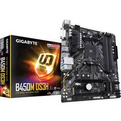 Základní deska Gigabyte B450M DS3H Socket AMD AM4 Tvarový faktor Micro-ATX Čipová sada základní desky AMD® B450