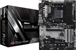 Základní deska ASRock B450 Pro4 Socket AMD AM4 Tvarový faktor ATX Čipová sada základní desky AMD® B450