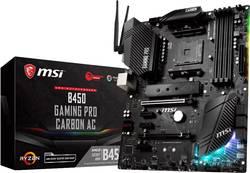 Základní deska MSI Gaming B450 Gaming Pro Carbon AC Socket AMD AM4 Tvarový faktor ATX Čipová sada základní desky AMD® B450