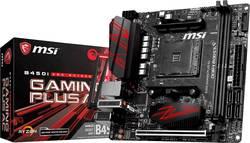 Základní deska MSI Gaming B450i Gaming Plus AC Socket AMD AM4 Tvarový faktor Mini-ITX Čipová sada základní desky AMD® B450