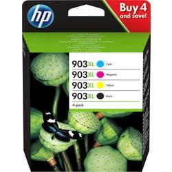 Sada náplní do tlačiarne HP 903 XL 3HZ51AE, čierna, zelenomodrá, purpurová, žltá