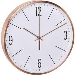 DCF nástenné hodiny TFA Dostmann 60.3534.51 60.3534.51, vonkajší Ø 300 mm, meď