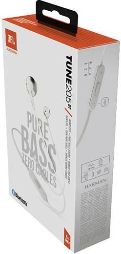 jbl tune 205 bt bluetooth kopfh rer in ear headset silber. Black Bedroom Furniture Sets. Home Design Ideas