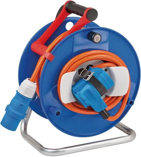 brennenstuhl 1182470 kabeltrommel 20 m orange cee stecker. Black Bedroom Furniture Sets. Home Design Ideas