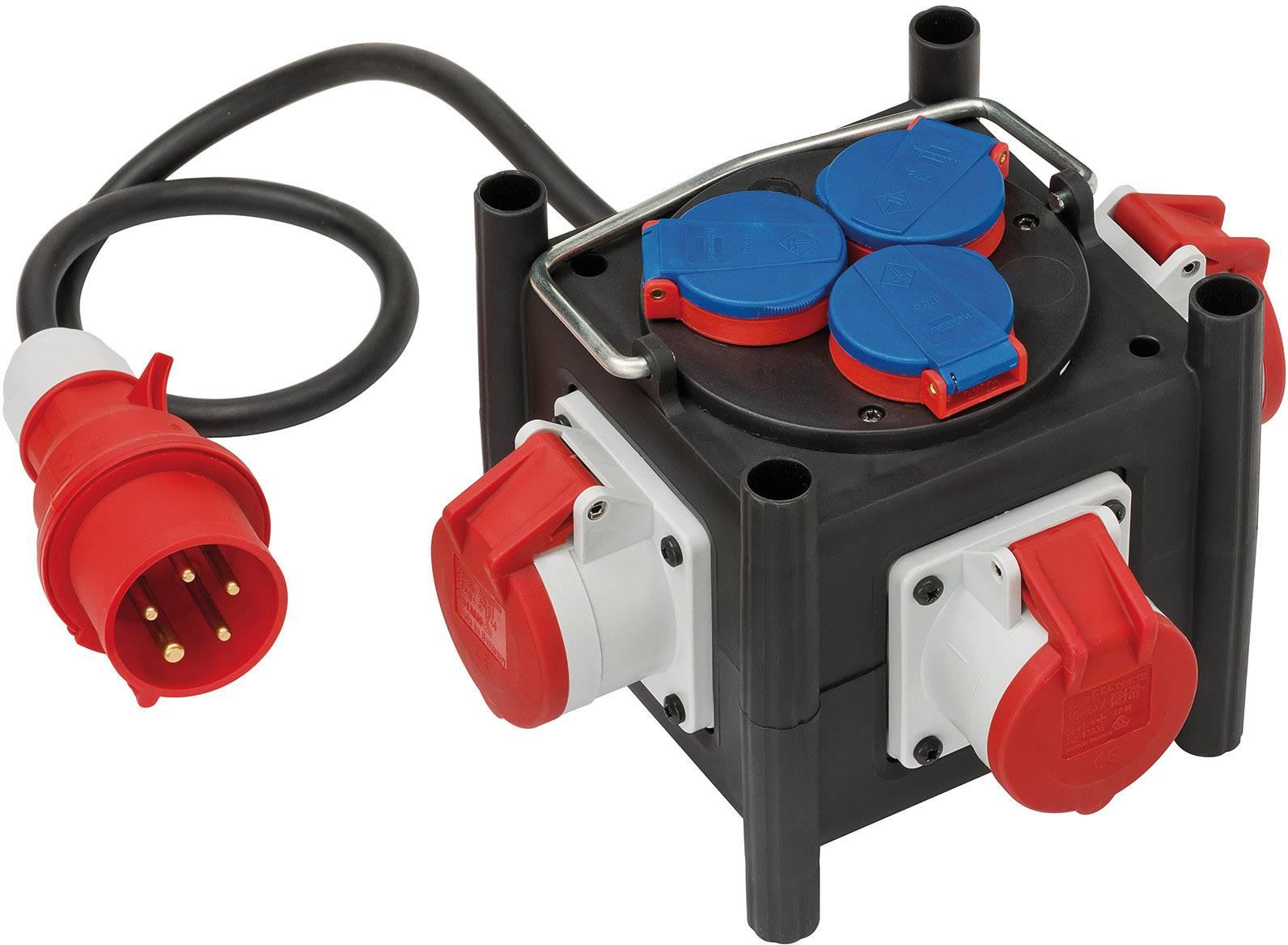 16A Stromverteiler Baustromverteiler Adapter CEE-Gerätestecker Verteiler Leitung