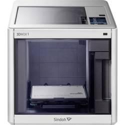 3D tlačiareň Sindoh 3DWOX 1, 12,7cm farebná dotyková obrazovka, integrovaná kamera, flexibilné kovové lože, vr. softvéru