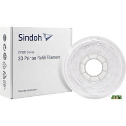 Vlákno pre 3D tlačiarne, Sindoh 3DP200PWH-R, PLA plast , 1.75 mm, 700 g, biela