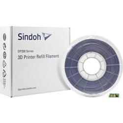 Vlákno pre 3D tlačiarne, Sindoh 3DP200PGY-R, PLA plast , 1.75 mm, 700 g, sivá