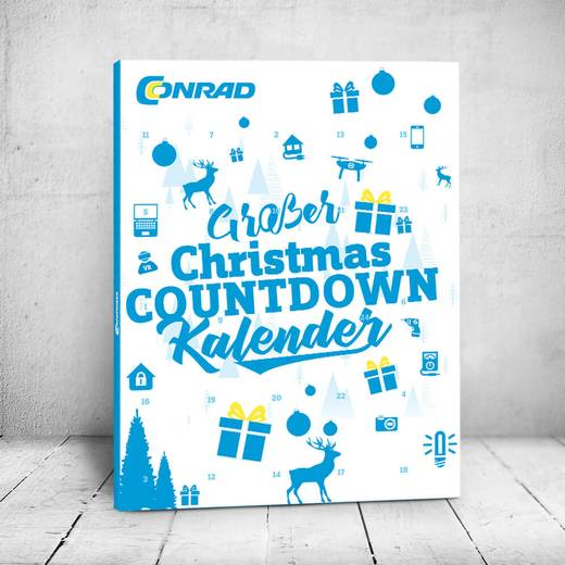 Großer Christmas COUNTDOWN Kalender