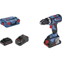 Aku príklepová vŕtačka Bosch Professional GSB 18V-60 C 06019G2107, 18 V, 4 Ah, Li-Ion akumulátor