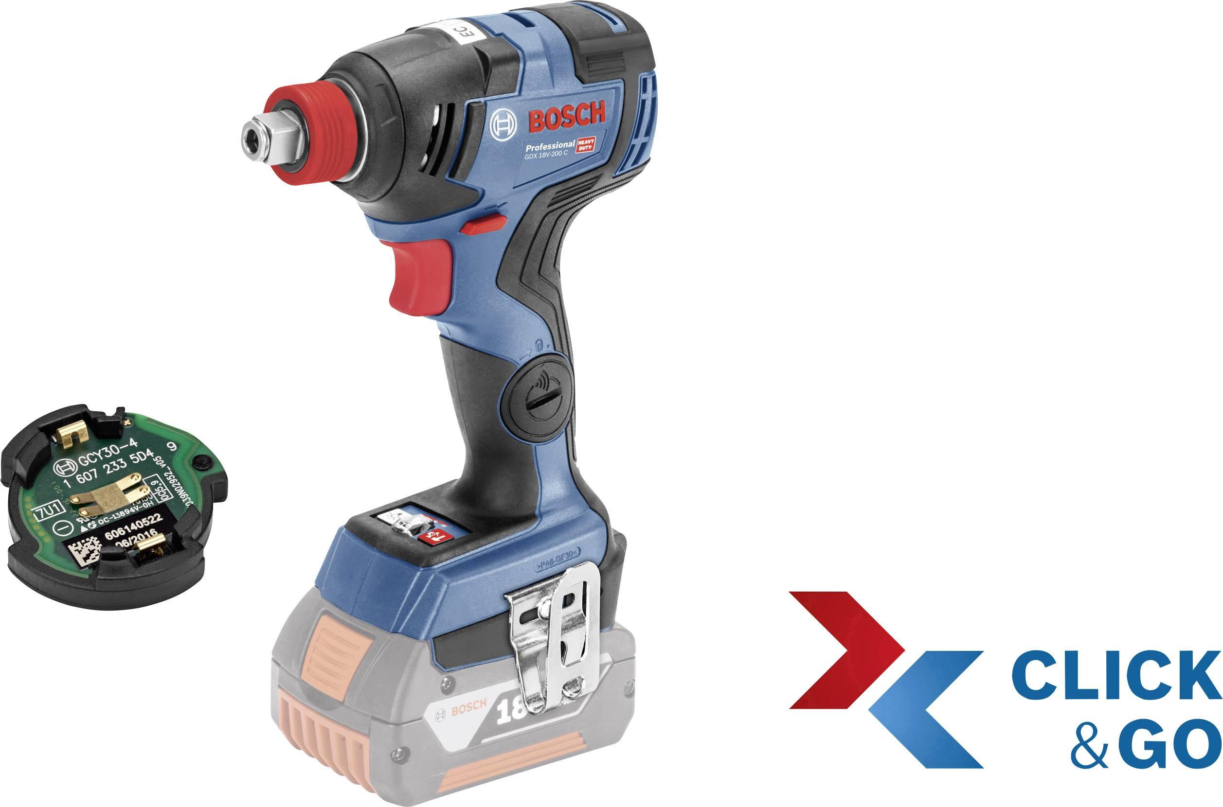L-Boxx Bosch Akku-Drehschlagschrauber GDX 18V-200 C Professional inkl