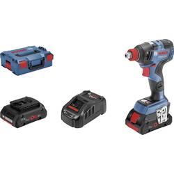 Aku rázový skrutkovač a uťahovák Bosch Professional GDX 18V-200 C 06019G4206, 18 V, 4 Ah, Li-Ion akumulátor