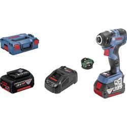 Aku rázový skrutkovač a uťahovák Bosch Professional GDR 18V-200 C + CoMo 06019G4100, 18 V, 5 Ah, Li-Ion akumulátor