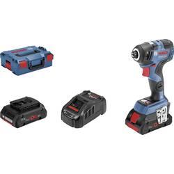 Aku rázový skrutkovač a uťahovák Bosch Professional GDR 18V-200 C 06019G4106, 18 V, 4 Ah, Li-Ion akumulátor