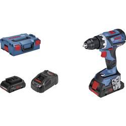 Aku vŕtací skrutkovač Bosch Professional GSR 18V-60 C 06019G1108, 18 V, 4 Ah, Li-Ion akumulátor