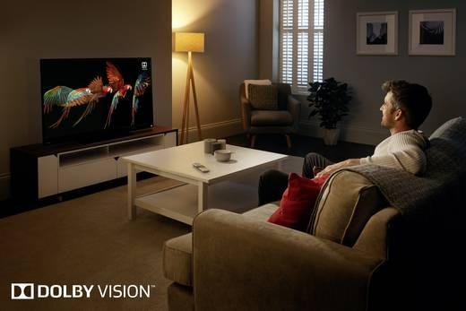 Toshiba 55V5863DA LED-TV 140 cm 55 Zoll EEK A+ DVB-T2, DVB-C, DVB-S, UHD, Smart TV, WLAN, CI+ Schwarz