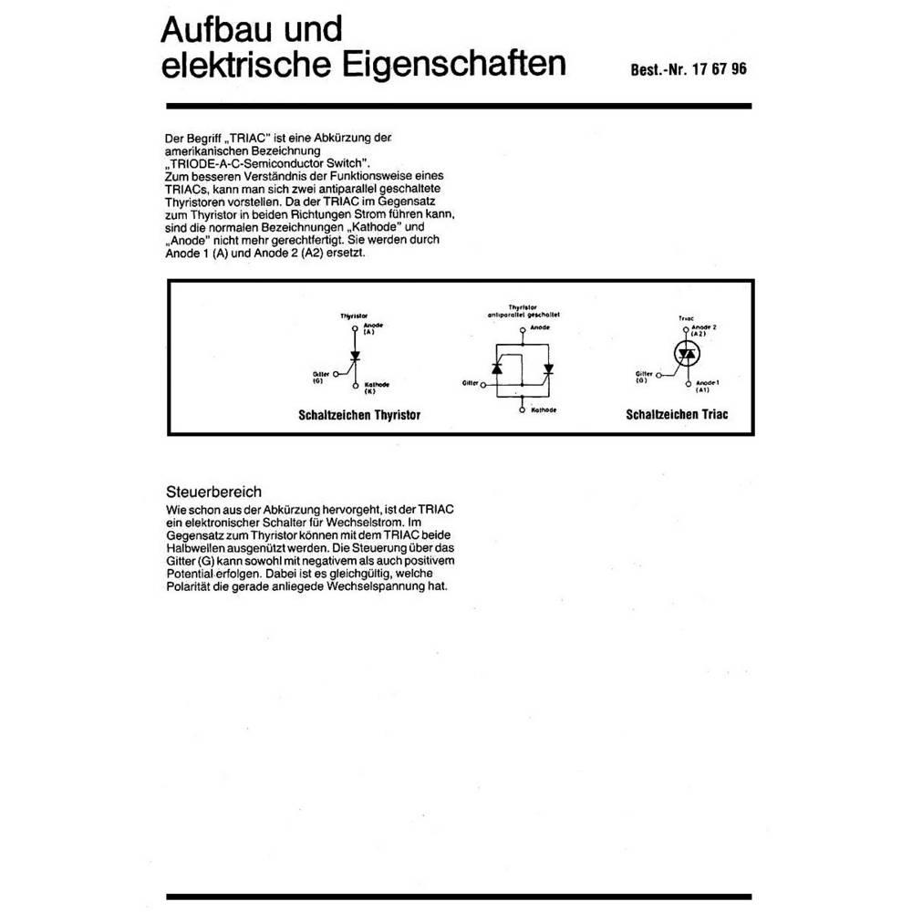 Interessante Schaltungen mit TRIACs from Conrad.com