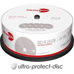 Image of Primeon 2761308 Blu-ray BD-R Rohling 25 GB 25 St. Spindel Antikratzbeschichtung