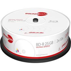 Image of Primeon 2761310 Blu-ray BD-R Rohling 25 GB 25 St. Spindel Bedruckbar