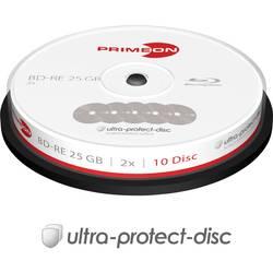 Image of Primeon 2761314 Blu-ray BD-RE Rohling 25 GB 10 St. Spindel Antikratzbeschichtung