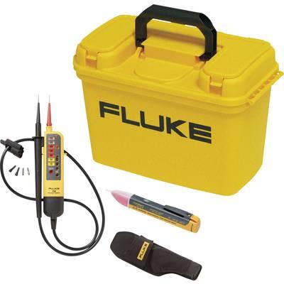 Fluke FLK-BAS ELECTR KIT Zweipoliger Spannungsprüfer CAT III 600 V Akustik, LCD, LED Preisvergleich