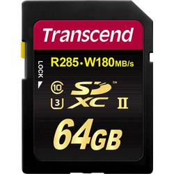 SDXC karta, 64 GB, Transcend Premium 700S, Class 10, UHS-II, UHS-Class 3, v90 Video Speed Class