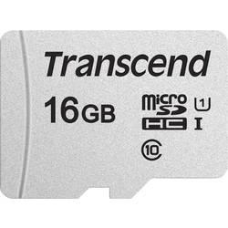 Pamäťová karta micro SDHC, 16 GB, Transcend Premium 300S, Class 10, UHS-I, UHS-Class 1, vr. SD adaptéru