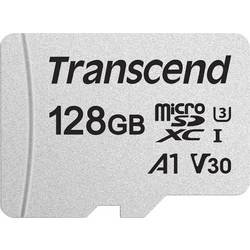 Pamäťová karta micro SDXC, 128 GB, Transcend Premium 300S, Class 10, UHS-I, UHS-Class 3, v30 Video Speed Class, vr. SD adaptéru