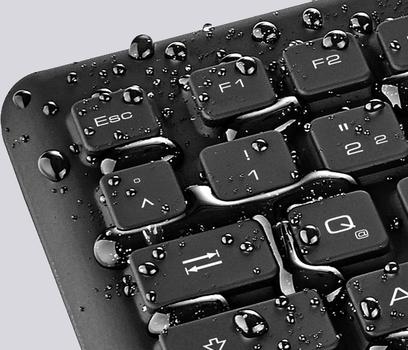 Reinigung der Tastatur im Home Office