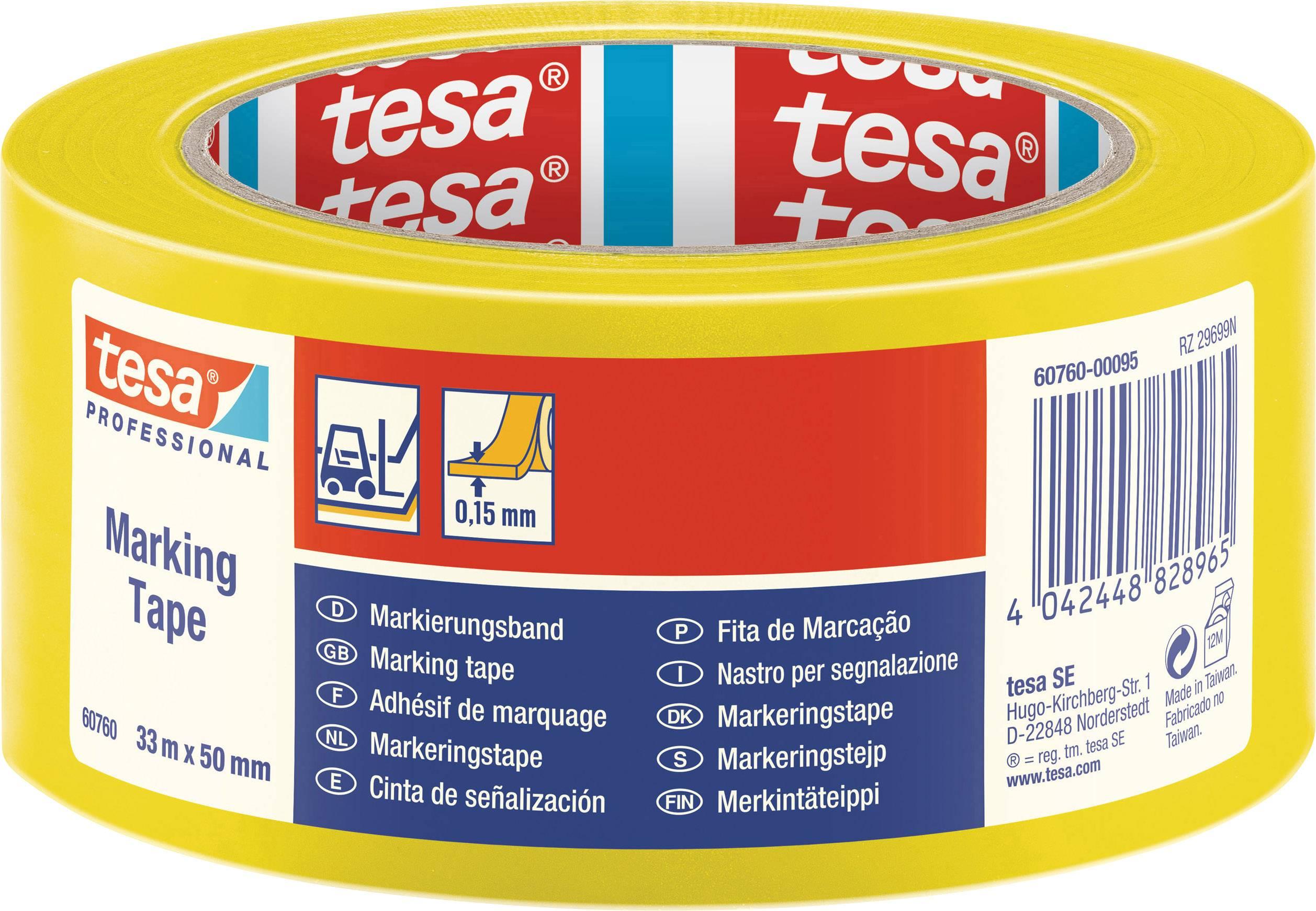 tesa Packband von Hand einrei/ßbar braun, 2X 50m x 50mm 50m x 50mm