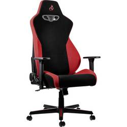 Herné stoličky Nitro Concepts S300 Inferno Red, NC-S300-BR, čierna, červená