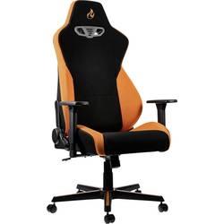 Herné stoličky Nitro Concepts S300 Horizon Orange, NC-S300-BO, čierna, oranžová